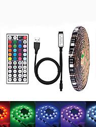 Недорогие -LOENDE 5 метров Наборы ламп 150 светодиоды SMD5050 RGB Водонепроницаемый / USB / Для вечеринок 5 V / Работает от USB 1 комплект