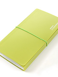 Недорогие -Пластик Папки и обложки отчетов Случайный цвет / Черный / Синий Однотонный Офисные принадлежности
