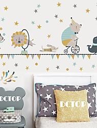 Недорогие -Creative diy цветной отпечаток ладони для детской спальни гостиной детский сад и самоклеющиеся обои наклейки декоративные наклейки на стену - плоские стикеры стены формы / натюрморт детская комната /