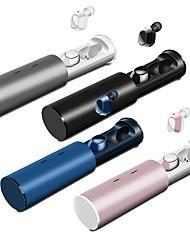 Недорогие -maikou tws-19 tws правда беспроводные наушники bluetooth 5.0 с шумоподавлением hifi спортивные 3d стереогарнитура встроенный микрофон с магнитным чехлом