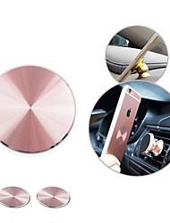 Недорогие -2 шт. Металлическая пластина клейкая наклейка заменить магнитный автомобильный держатель телефона