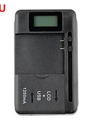 Недорогие -универсальное зарядное устройство с ЖК-дисплеем для мобильных телефонов 1 USB-порт