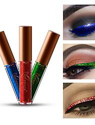 Недорогие -макияж 12 цвет жемчужина металлическая жидкая подводка для глаз блестящий алмаз жемчужная жидкая подводка для глаз