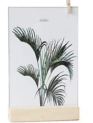 Недорогие -Современный современный Дерево Зеркальное Рамки для картин, 2pcs