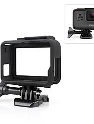 Недорогие -Гладкая Рамка Защита Для Экшн камера Gopro 6 Gopro 5 На открытом воздухе Путешествия Стрельба ABS + PC
