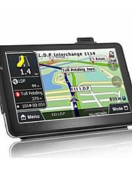 Недорогие -7-дюймовый Android Quad Core 16 ГБ Автомобильный GPS-навигатор спутниковый навигатор AV-Bluetooth WIFI FM-передатчик комплект бесплатные карты