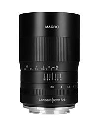 Недорогие -7Artisans Объективы для камер 7Artisans 60mmF2.8EOSM-BforФотоаппарат