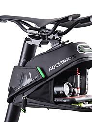 Недорогие -ROCKBROS 1/1.5 L Сумка на бока багажника велосипеда Отражение Большая вместимость Водоотталкивающая Велосумка/бардачок Полиэстер PU Велосумка/бардачок Велосумка Шоссейный велосипед Горный велосипед