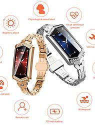 Недорогие -B78 умные часы женщины 2019 водонепроницаемый мониторинг сердечного ритма шагомер Bluetooth для Android IOS фитнес-браслет SmartWatch