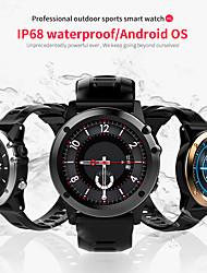 Недорогие -h1 умные часы android 4.4 водонепроницаемый 1.39 mtk6572 bt 4.0 3 г wifi gps sim для iphone smartwatch мужчины носимые устройства