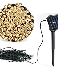Недорогие -200 светодиодные солнечные лампы гирлянда строка сад на открытом воздухе свадьба рождество