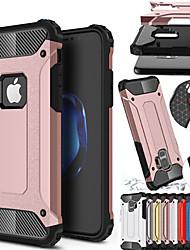 Недорогие -противоударный чехол чехол для телефона Apple Iphone XS Max XR Iphone XS Iphone X резиновая броня гибридный ПК твердый переплет для Iphone 8 плюс Iphone 8 Iphone 7 плюс Iphone 7 Iphone 6 плюс Iphone 6