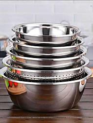 Недорогие -Набор из нержавеющей стали умывальник сито мыть овощные горшки вазы с фруктами