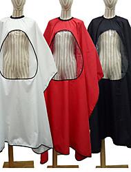 Недорогие -1 шт. Про салон парикмахерская стрижка платье накидка с прозрачным окном парикмахерская фартук смешно новинка украла