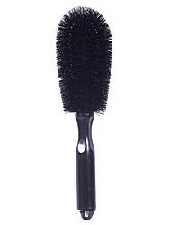 Недорогие -универсальный автомобильный диск колеса ручка для мытья шин щетка авто чистящий инструмент дом для чистки ковров