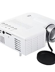 Недорогие -Uc28a мини портативный светодиодный проектор ЖК-1080 P HD мультимедийный домашний кинотеатр театр USB TF HDMI AV проектор светодиодный проектор для домашнего использования
