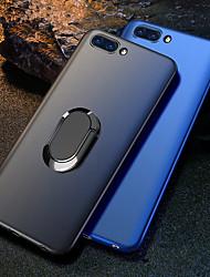 Недорогие -Кейс для Назначение Huawei Huawei Honor 10 / Honor 10 Lite / Honor V20 Защита от удара / со стендом / Кольца-держатели Кейс на заднюю панель Однотонный Твердый ПК / Металл