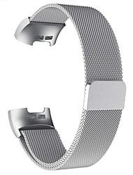 Недорогие -для зарядки fitbit 3 часа замена ремешка на запястье браслет из нержавеющей стали и металла без винтов