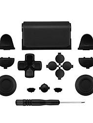 Недорогие -Комплекты запасных частей игрового контроллера Многоцветная кнопка для запасных частей контроллера PlayStation 4 для контроллера PS4 / Sony PS4