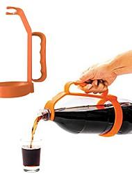 Недорогие -1 шт. Творческий пластиковый напиток в бутылках ручка соды колы питьевая бутылка ручка колы ручка