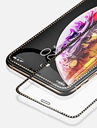 Недорогие -AppleScreen ProtectoriPhone XS Бриллиантовый блеск Защитная пленка на всё устройство 2 штs Закаленное стекло