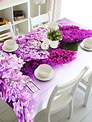 Недорогие -Классика полиэфирное волокно Квадратный Салфетки-подстилки Цветочный принт Настольные украшения