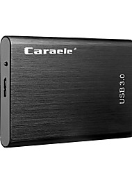 Недорогие -caraele usb3.0 портативный мобильный жесткий диск ультратонкий металлический 2 ТБ