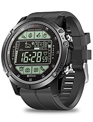Недорогие -Смарт Часы Цифровой Современный Спортивные силиконовый 30 m Защита от влаги Пульсомер Bluetooth Цифровой На каждый день На открытом воздухе - Черный Оранжевый Красный