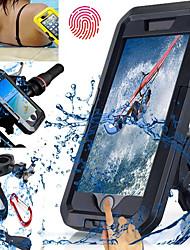 Недорогие -Крепление для телефона на велосипед Сенсорный экран Водонепроницаемость Высокая нагрузка для Плавание Дайвинг Мотобайк ABS iPhone X iPhone 8 8 Plus iPhone 6 плюс Велоспорт Черный