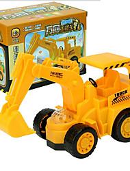 Недорогие -Дети пластик Колесный экскаватор Игрушечные грузовики и строительная техника Игрушки на солнечных батареях 1:32 / Стресс и тревога помощи