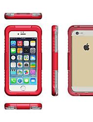 Недорогие -Кейс для Назначение Apple iPhone 8 Pluss / iPhone 8 / iPhone 7 Plus Защита от удара Кейс на заднюю панель Однотонный Мягкий силикагель