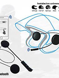 Недорогие -litbest bt8 мотоцикл шляпа телефон&вождение гарнитуры беспроводной мобильный телефон Bluetooth 4.0 с регулятором громкости