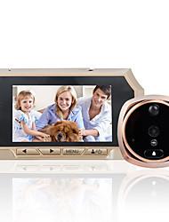 Недорогие -4,3-дюймовый высокой четкости интеллектуальный электронный кошачий глаз дверной звонок зондирования ночного видения видеокамера опционально