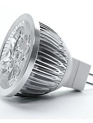 Недорогие -1шт 12 W Точечное LED освещение MR16 MR16 4 Светодиодные бусины Диммируемая Тёплый белый 12 V