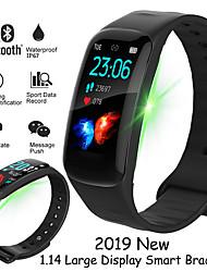 Недорогие -H29 смарт-группа цветной дисплей фитнес-трекер ip67 водонепроницаемый смарт-браслет монитор артериального давления артериального давления для Android IOS