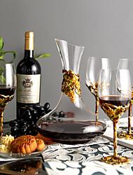 Недорогие -5 шт. Стекло Товары для бара изделия из стекла Винные пробки Винные стеллажи Классический Прост в применении Вино Аксессуары для Barware