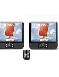 Недорогие -Lenco Mes-403 9-дюймовый DVD-плеер с двойным экраном / MP3 / SD / USB Поддержка универсальной поддержки Microusb WMA