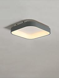Недорогие -CONTRACTED LED® геометрический Потолочные светильники Потолочный светильник Окрашенные отделки Металл LED, Новый дизайн 110-120Вольт / 220-240Вольт Теплый белый / Холодный белый
