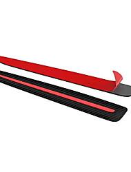Недорогие -Углеродного волокна автомобиля бампер протектор против царапин наклейка авто протектор тела