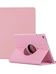 Недорогие -Кейс для Назначение Apple iPad Air / iPad 4/3/2 / iPad Mini 3/2/1 Поворот на 360° / Защита от пыли Чехол Однотонный Твердый Кожа PU / iPad (2017) / iPad Pro 10.5