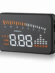 Недорогие -дисплей gps спидометр интерфейс obd2 x5 3 проект лобового стекла цифровой автомобиль спидометр автомобиль