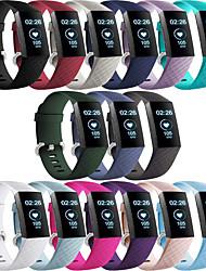 povoljno -Pogledajte Band za Fitbit Charge 3 Fitbit Moderna kopča Silikon Traka za ruku