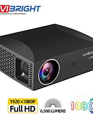 Недорогие -Full HD проектор vivibright f30, 1920x1080p pixel, 3d светодиодный ЖК-проектор для домашнего кинотеатра. Версия Android F30UP поддерживает 4K видео 5G Wi-Fi Bluetooth HDMI USB-система Android