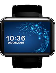 Недорогие -Смарт Часы Цифровой Современный Спортивные силиконовый 30 m Защита от влаги Пульсомер Bluetooth Цифровой На каждый день На открытом воздухе - Черный Черный / Серебристый