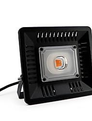 Недорогие -1шт 50 W 4000 lm 1 Светодиодные бусины Полного спектра Для парниковых гидропоники Растущие светильники 85-265 V Овощеводство