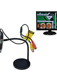 Недорогие -Портативный цифровой микроскоп 8-кратный цифровой зум-лупа с держателем 25х-600х кратное увеличение 4-50см фокус T03L микроскоп