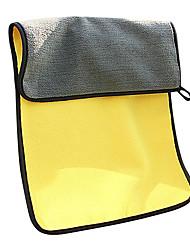 Недорогие -1 шт. Для ухода за автомобилем микрофибра мыть полотенца сушки полотенец для чистки автомобилей ткань толстый плюш, полиэфирное волокно сильный 30x60 см