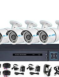 Недорогие -HDMI 8ch набор магазин монитор ахд коаксиальный высокой четкости инфракрасная камера мобильный телефон мониторинга машина 2 миллиона