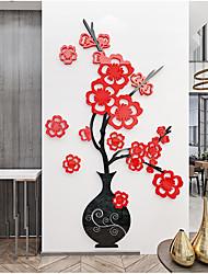 Недорогие -акриловая настенная ваза для цветов