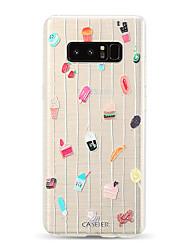 billige -Etui Til Samsung Galaxy S9 / S9 Plus / S8 Plus Støvsikker / Ultratyndt / Gennemsigtig Bagcover Tegneserie TPU